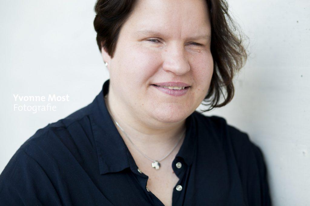 Portraitaufnahme von Nadine Wettstein (Foto: Ivonne Most)