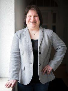 Portraitaufnahme von Nadine Wettstein